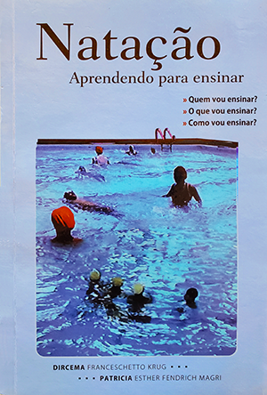 blue cover with swimmers